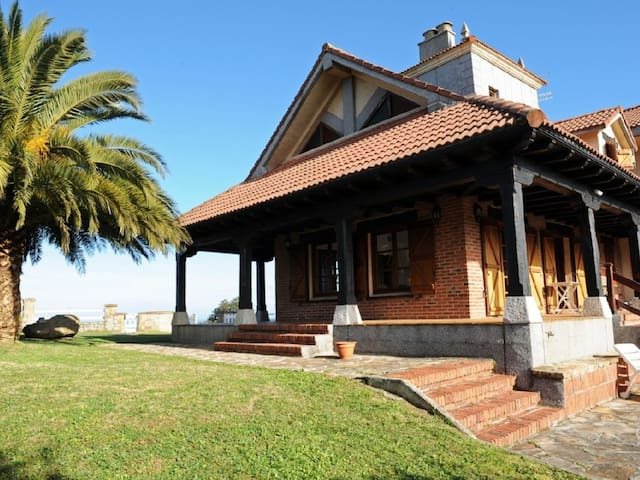 Villa en Cantabria junto a la playa de Oyambre - Ceceño - Rumah