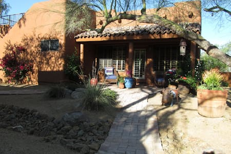 North Scottsdale Rustic Charming Guest House.