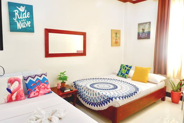 Cozy Triple Room near Baler Church
