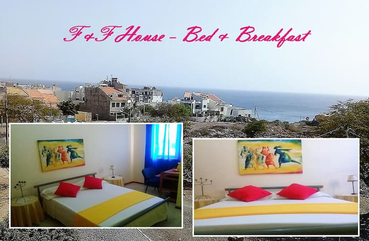 F & F  HOUSE ocean view  - Bed & Breakfast