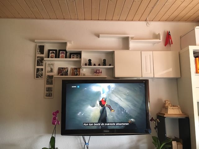 Cozy single room with parking (trip tips included) - Aalborg - Daire