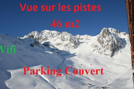46m2 -6 pers - Garage couvert -WIFI -Ski aux pieds - Apartment