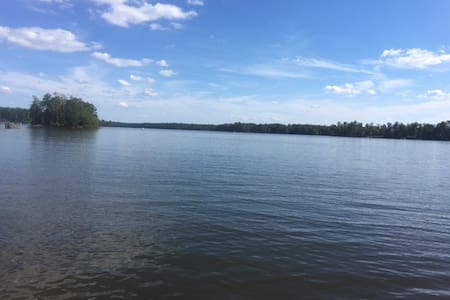 Private 2.5 acre Waterfront Lake Murray - Prosperity - Maison