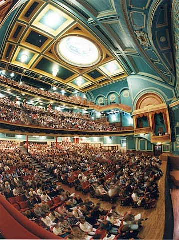 The Mayflower Theatre has a host of famous shows year-round and is a handy 10-minute walk from us.
