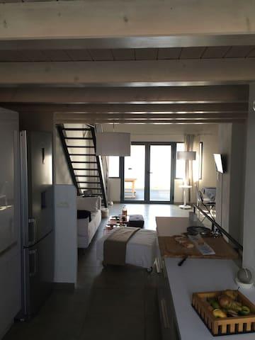 Maison rénovée, 150m de la plage - La Guérinière - Huis