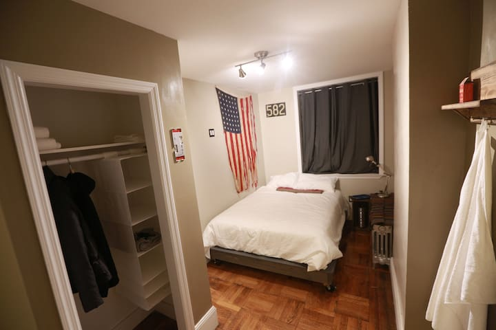 Room #1 in Hip Harlem Garden Apt. - New York - Wohnung
