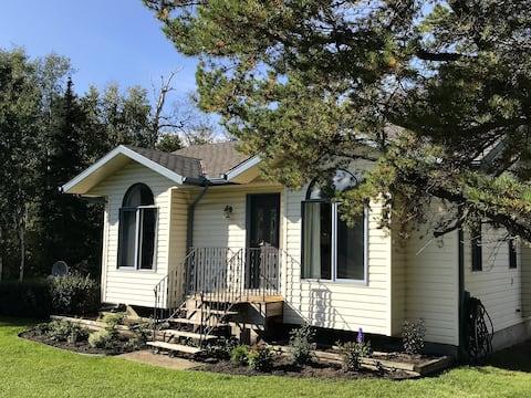 Edmonton'a Birkaç Dakika Mesafede Kır Evi