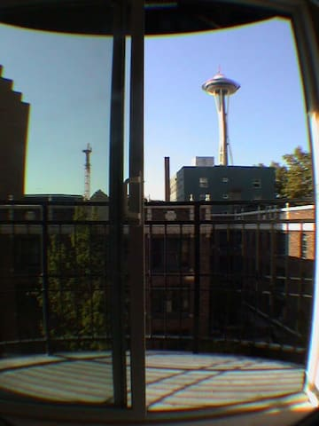 Reach out and touch the Space Needle from your balcony!