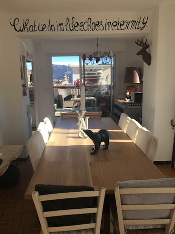 Appartement de charme vue panoramique - Les Angles - Apto. en complejo residencial