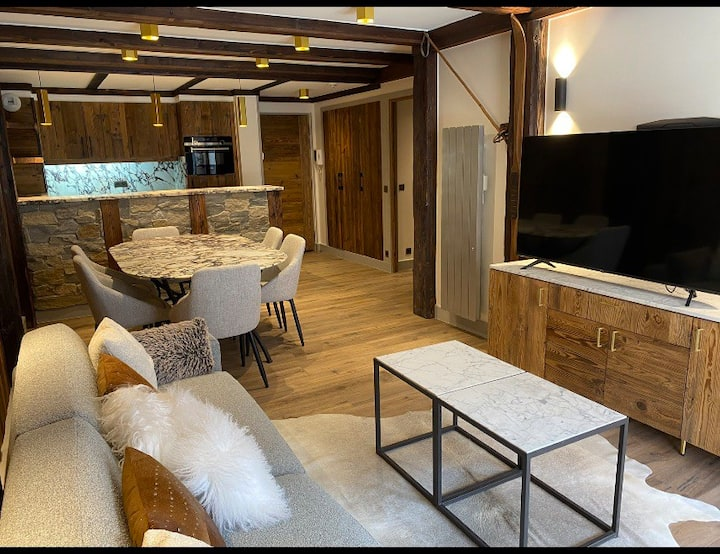 NEW Renovationluxe COURCHEVEL 1850, 70m2 Croisette