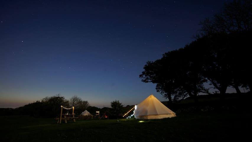 Derw Snowdonia Glamping Tent