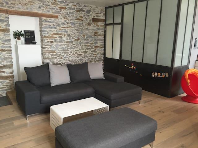 Chambre à 2 pas du centre ville, de la gare - Nantes - Huoneisto