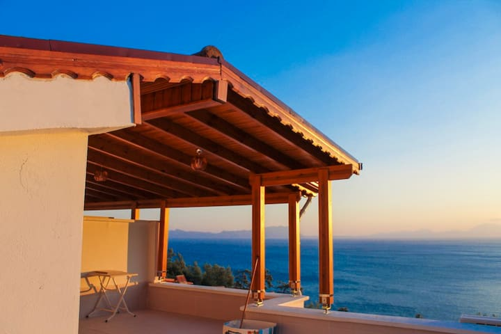 IMMACULATE & NEW Sea View Villa!! - Oren - Casa