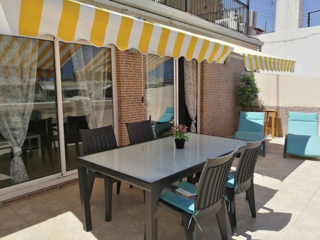 Apartment With Big Terrace And Beautiful View Casas De