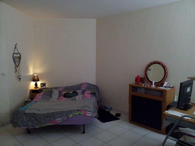 Studio chaleureux - Évreux - Lägenhet