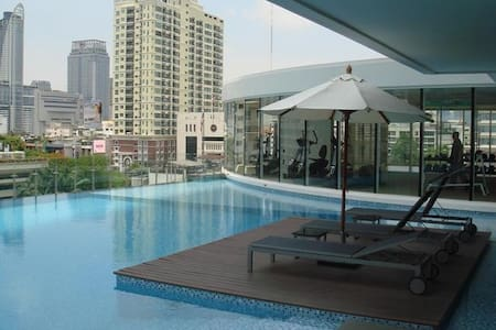Amazing place at BTS Rachatewi&Siam - Bangkok - Departamento
