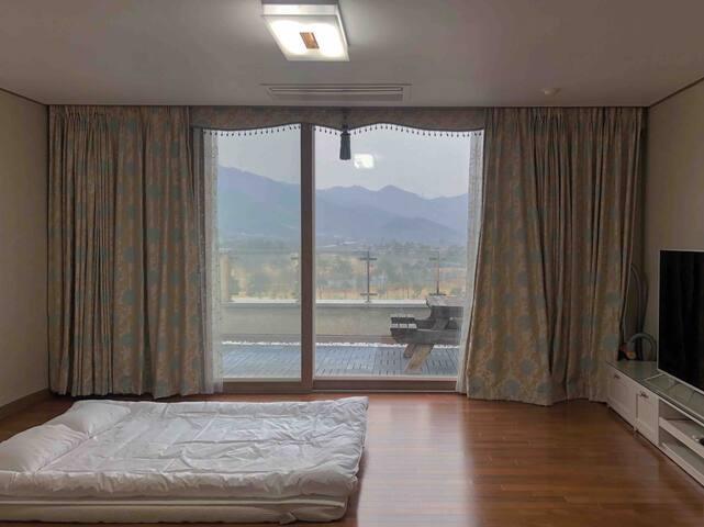 고창, 골프, 석정 C.C 인근, 풍경 좋은 독채, 그 2층의 완벽한 독실, 특별가 제안,