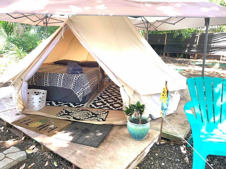 Surf Camp Tiki YURT!  Live in nature! 30 day min