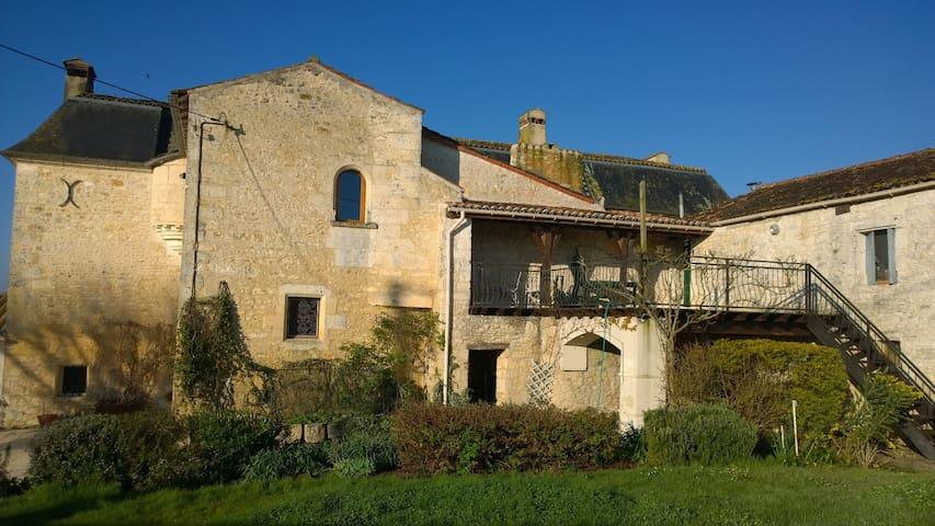 Porthos - La Brossardière le Logis - Taillebourg - Apartamento