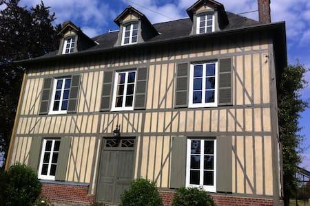 Maison Familiale, proche d'Honfleur - Bonneville-la-Louvet