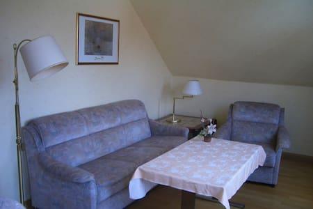 Möblierte 3Zi Wohnung. Bad, Küche, H6 - 2.OG - Friedrichsdorf - Huoneisto