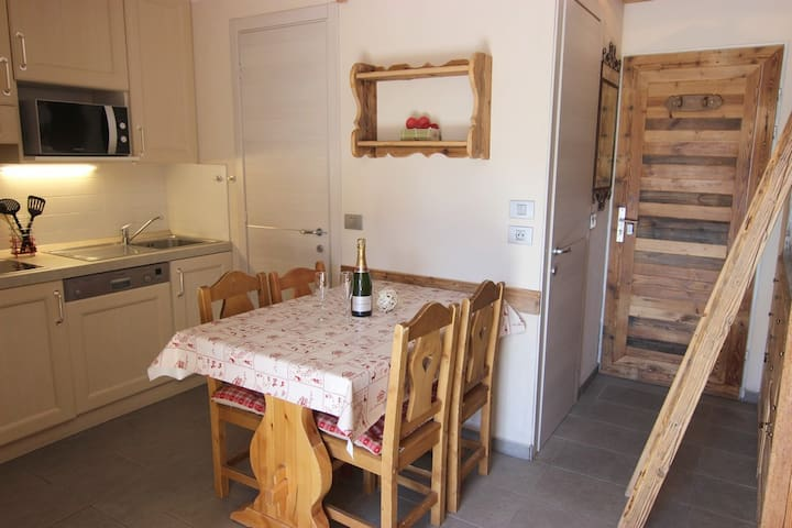 ALTINEIGE STUDIO CABIN 25M² 4 PERS CHALET STYLE