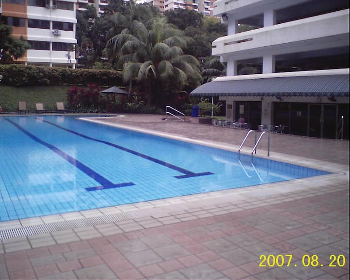 Braddell View Pte Condo - Private Queen's Room
