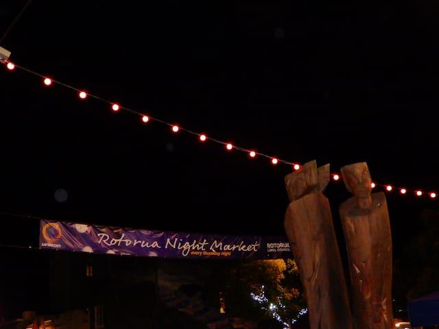 Thursday Night Market and Eat Street Rotorua
