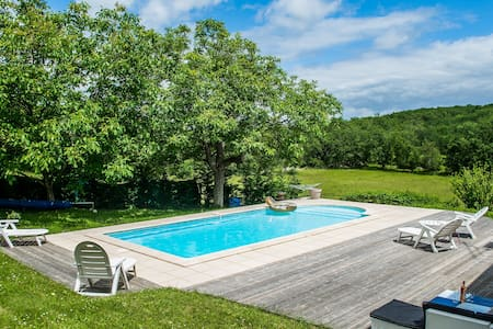Maison et piscine totalement privée, loisirs tous