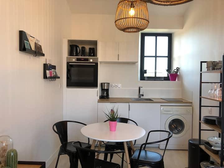 Appartement 2 pieces, coeur de village
