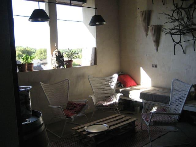 Maison aménagée dans un moulin à huile, XVIIIème - Fontvieille - Casa