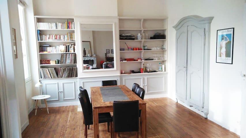 Spacious Haussmannian Family 2 bdr apartment - Bordeaux - Apartment