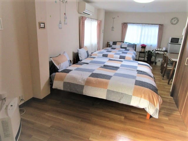 2F / 10min from JR Kofu Sta./ WiFi & Parking