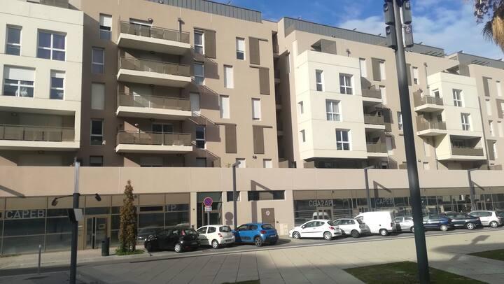 Appartement cosy et neuf proche hôpitaux/Facultés