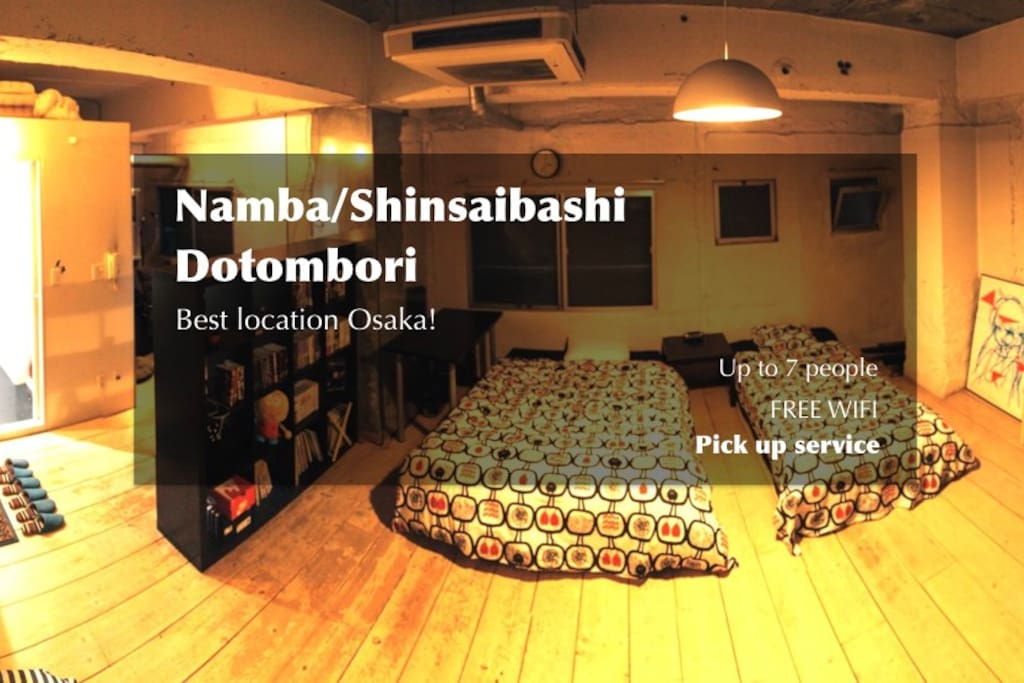 Osaka best area