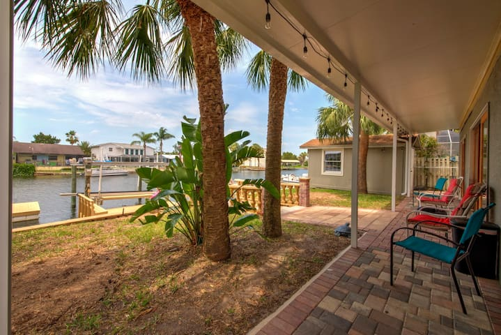 Waterfront Paradise☼Paddle to Gulf☼Family Friendly