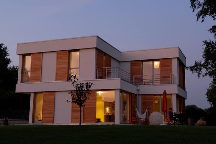 Villa pleine de charme à la campagne