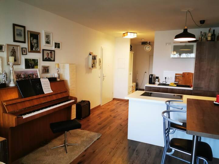 Gemütliche Wohnung mit Nähe zum Flughafen und FFM