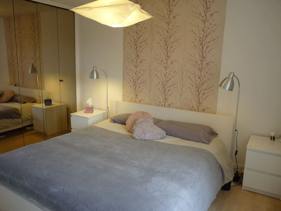 Chambre 18m2 b b sdb wc priv sauna cuisine jardin for Chambre 18m2