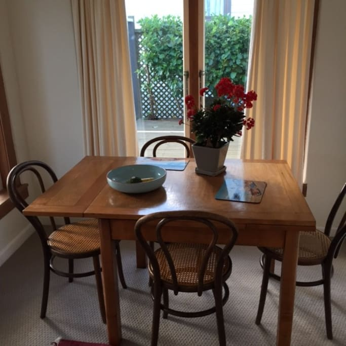 Dining room - small but cosy