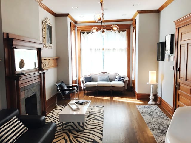 Well-styled spacious apartment with a lot to offer