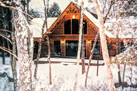 The Best of Both Worlds,Suite attached 2 Log Cabin