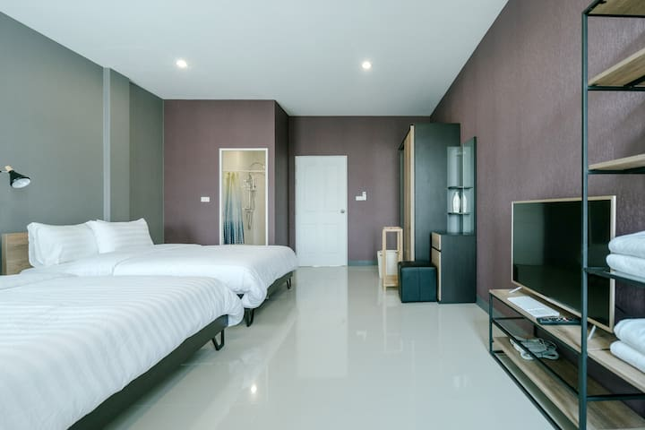 Cozy room for 4/Near nimman/Private and quiet