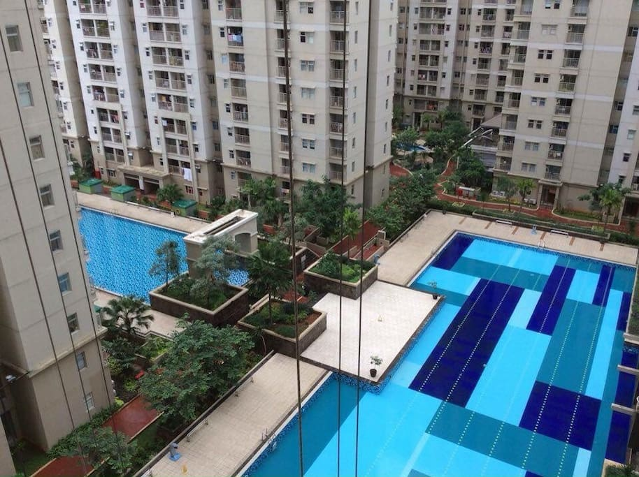 apartemen mediterania 2 apartments for rent in jakarta