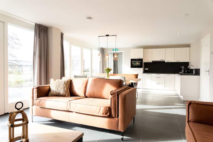 Spacious newly built family apartment near Utrecht