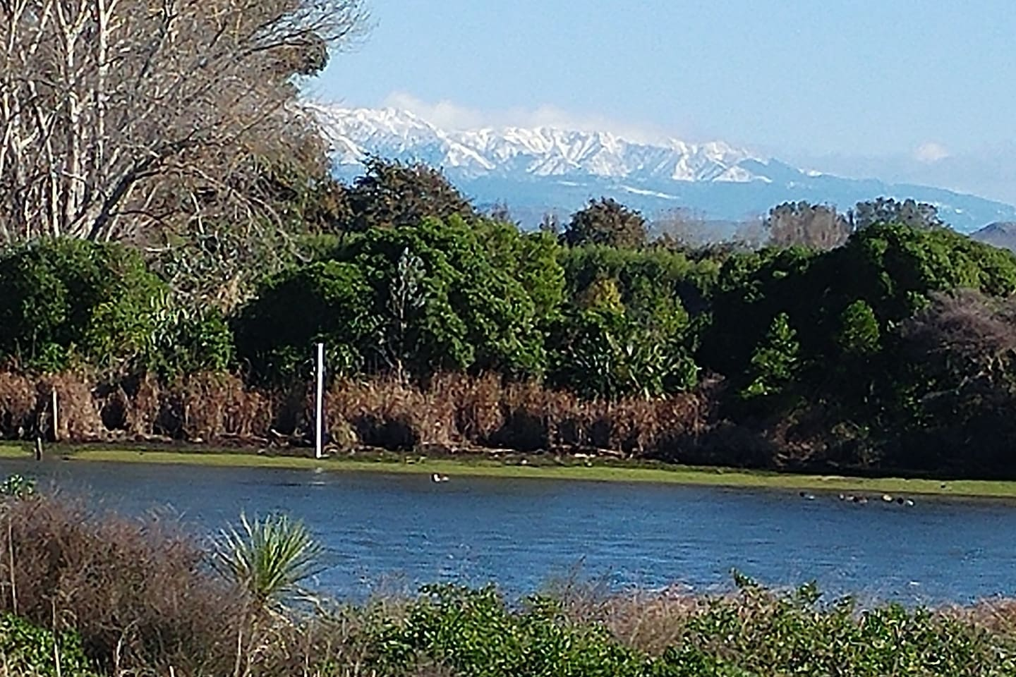 Wintertime in the distance, in Sunny Hawkes Bay