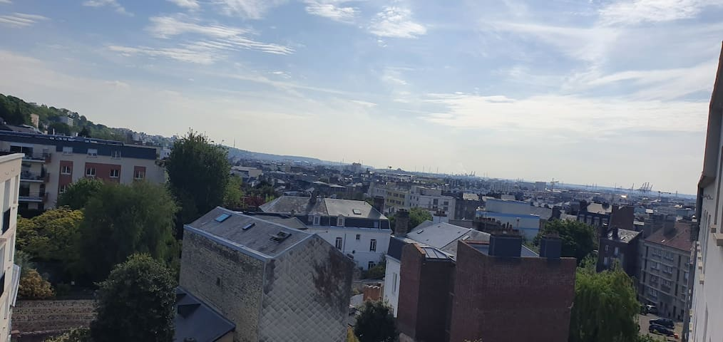 Chambre privée  au calme centre ville Le Havre