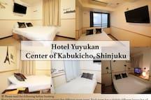 Hotel Yuyukan Center of Kabukicho, Shinjuku