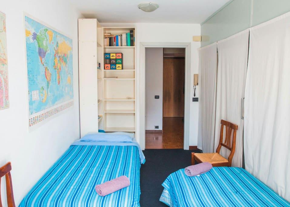 camera degli ospiti. guests room
