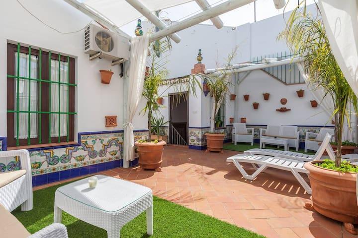 Ático con terraza privada.